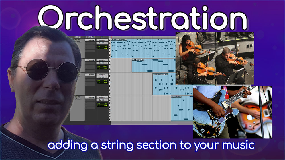 Don't you just love a string section in a song! Here's and introduction on how to do it.