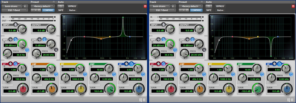 Pro Tools - Parametic Equalizer