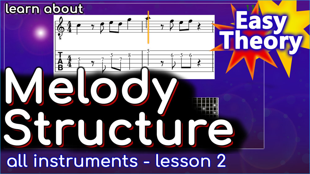 VIDEO - an introduction to melody structure