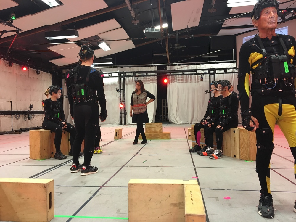 Motion capture for LGBTQ