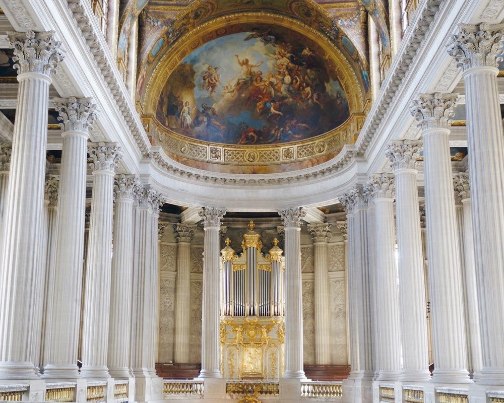 The main chapel at Versailles