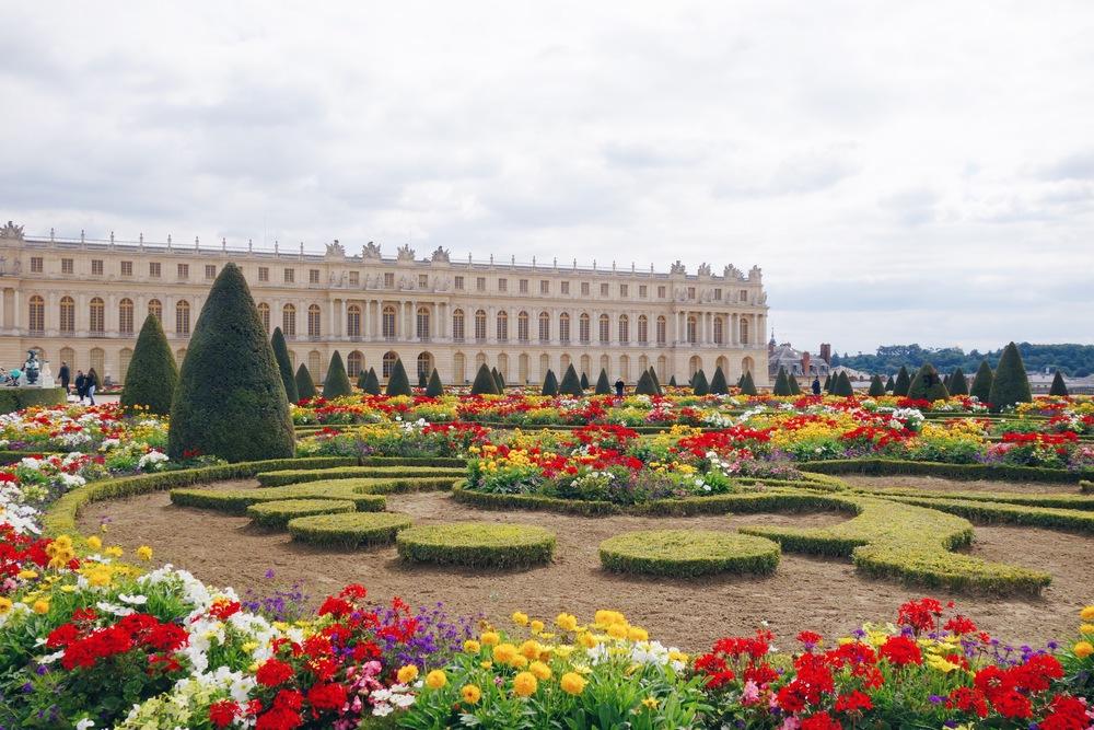 One of Marie Antoinette's famous gardens