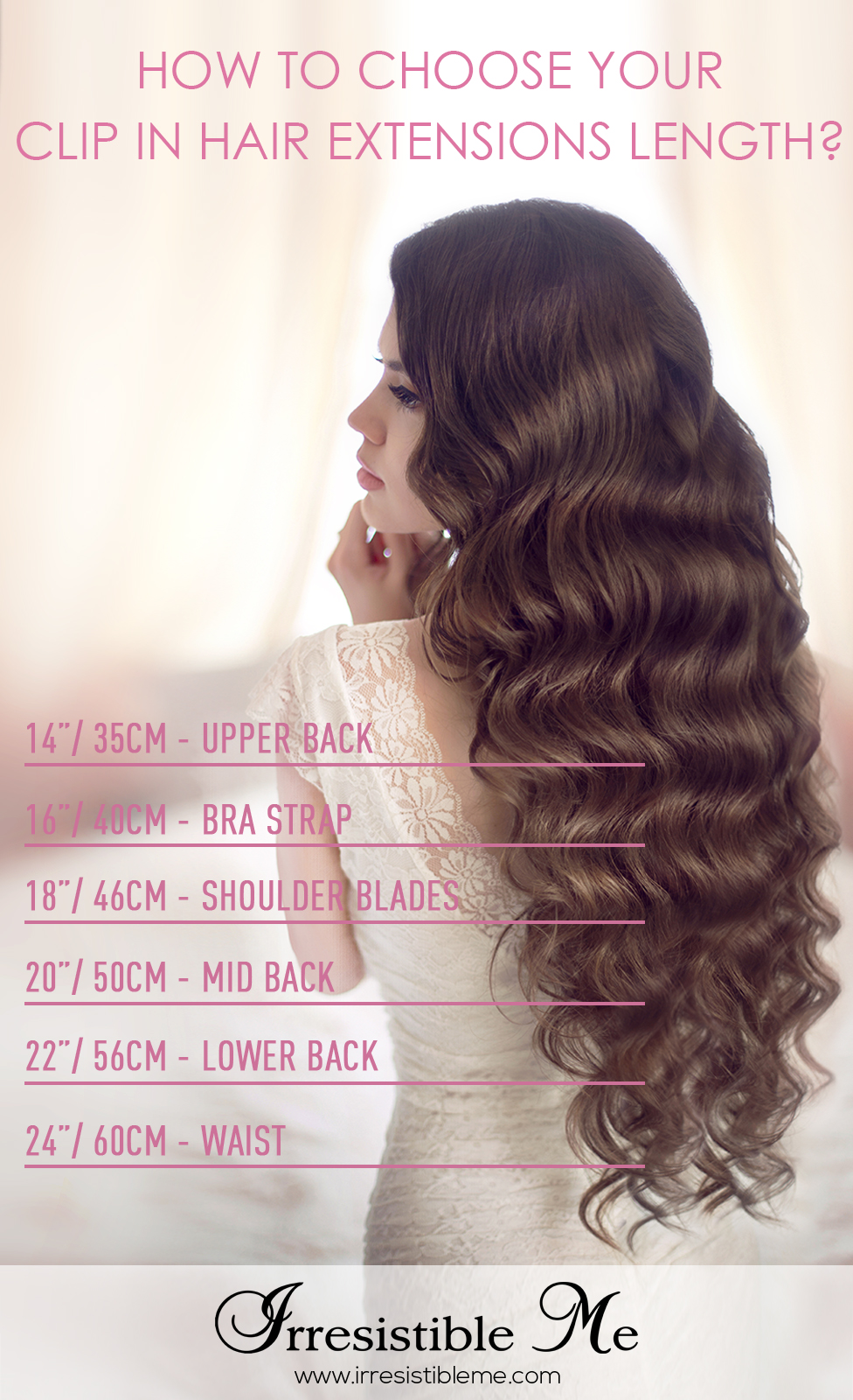 Little gold book but for braids and major glam longer and thicker is the way to go this helpful chart shows how long they will be on you pmusecretfo Gallery