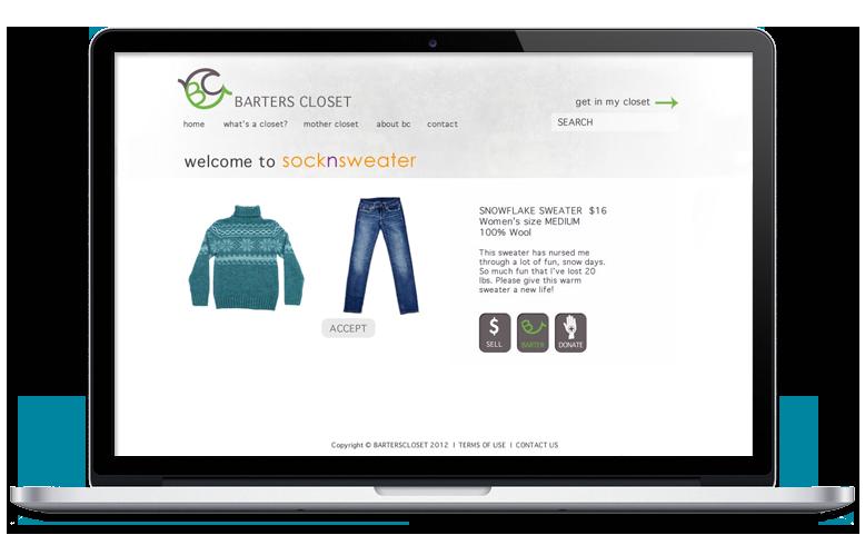 website barter page