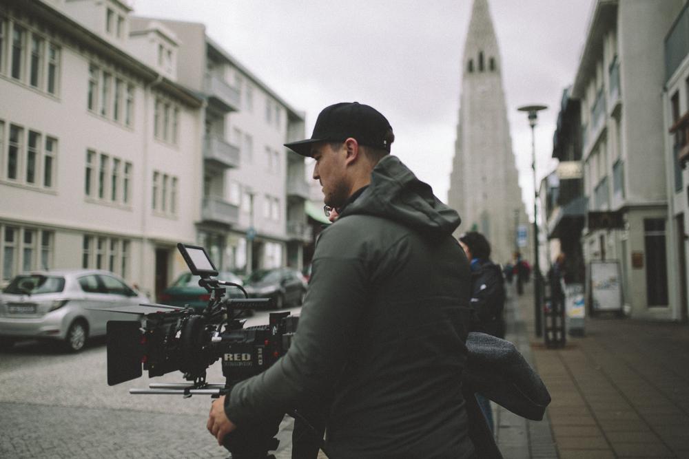 Micah / Shooting in downtown Reykjavik