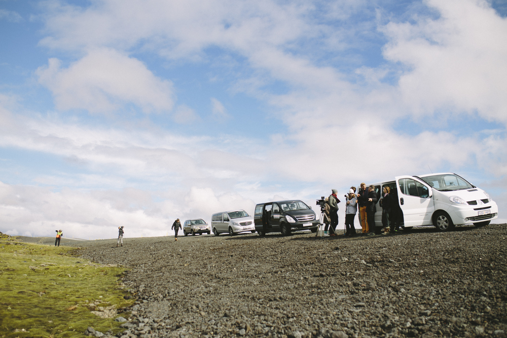Our first stop on our stop-and-go drive to Vik