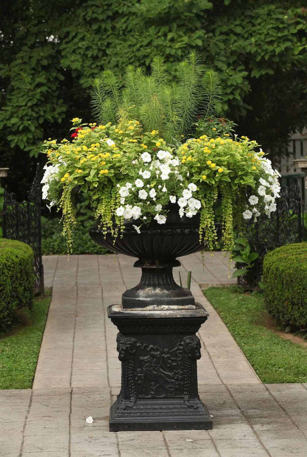 Urn In The Formal Garden, Whitehall, Louisville, KY