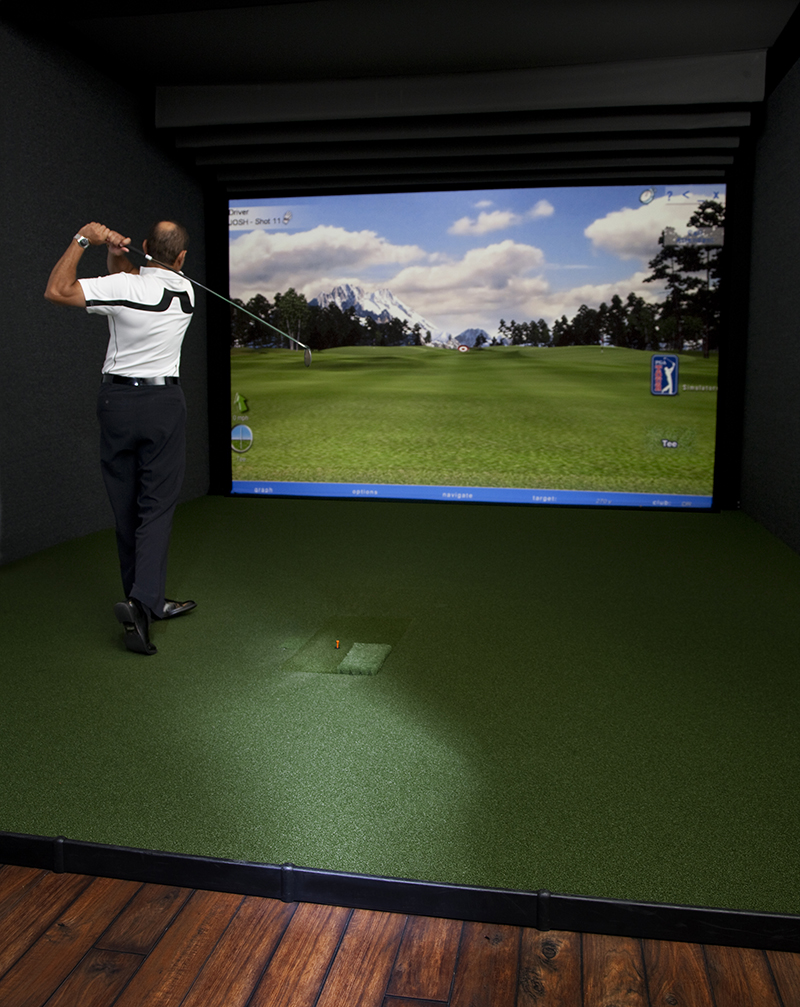 State-of-the-art Golf Simulator