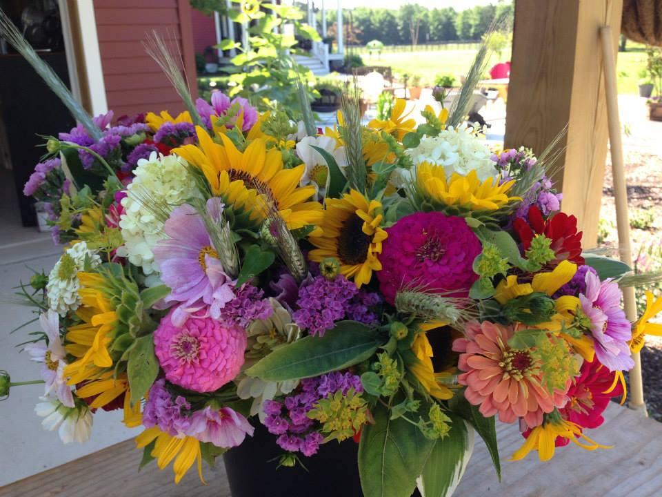 Farm Bouquet Bunch by Linda