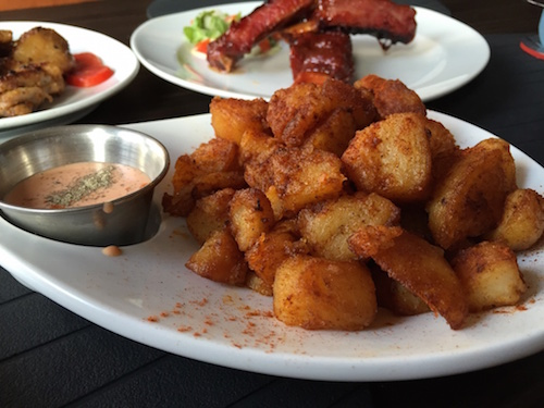 ginger tapas patatas bravas