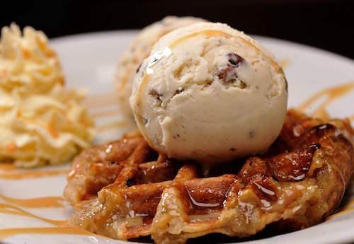 Butter Pecan Waffle