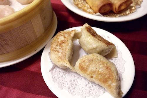 Pan Fried Chicken Dumplings