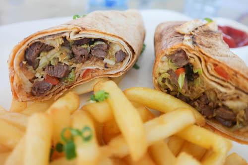 bay lounge shawarma lekki