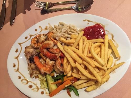 La Cour Seafood Platter