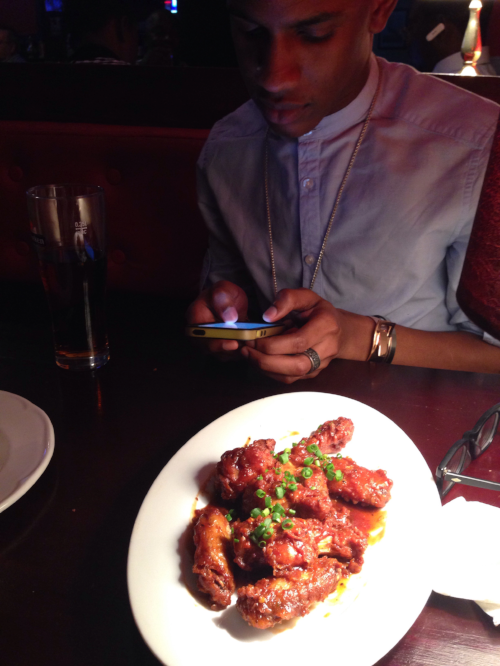 FUN FACT: Denola LOVES wings.
