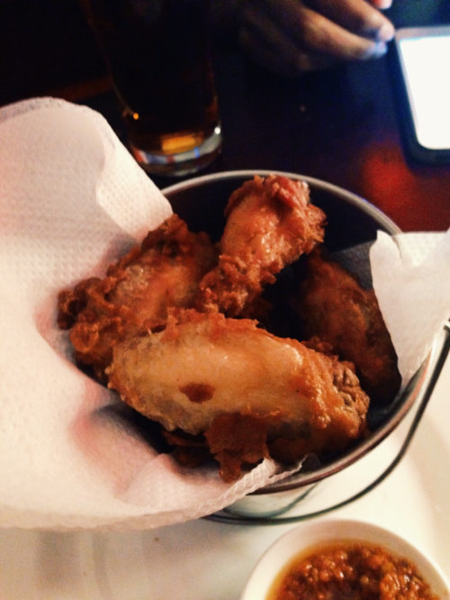crispy wings