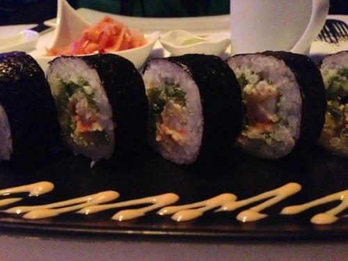 sky lounge sushi