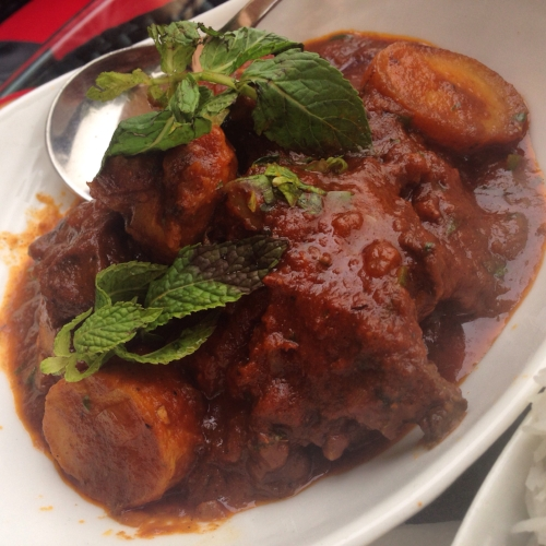 Mutton Vindaloo At Spice Route