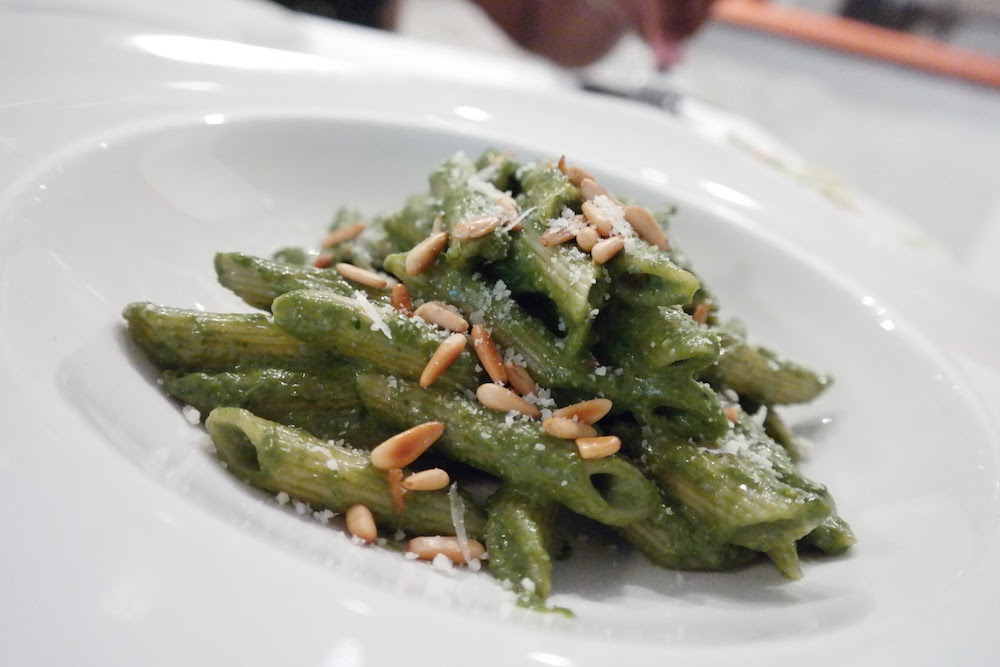 Penne Pesto at Talindo