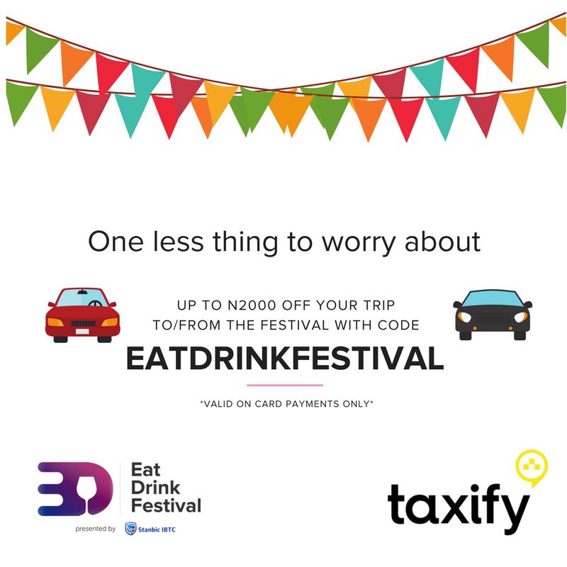 Taxify at #EatDrinkFestival-Blog