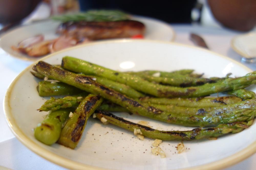 Asparagus on the side