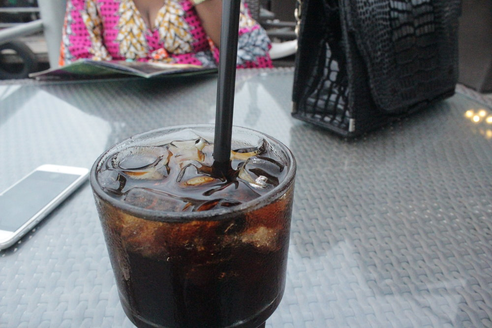 Not enough vodka, melted ice and too much coke