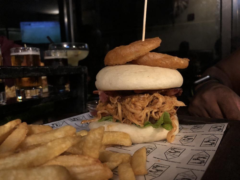 Dim Sum Burger