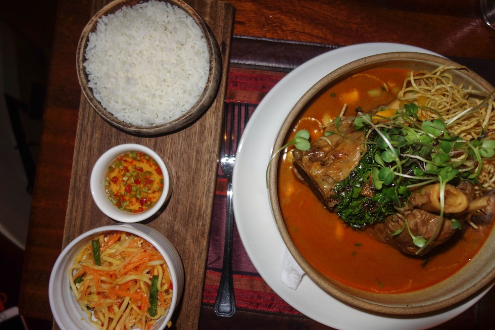Thai Red Curry with Pork Shank