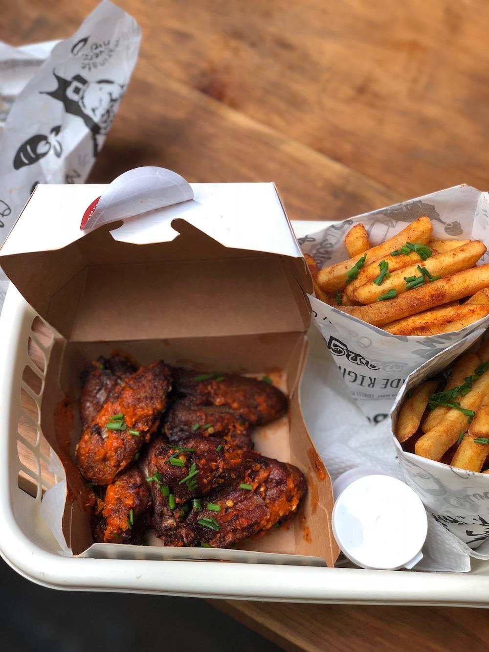 Finga Lickin' Harissa Chicken Wings