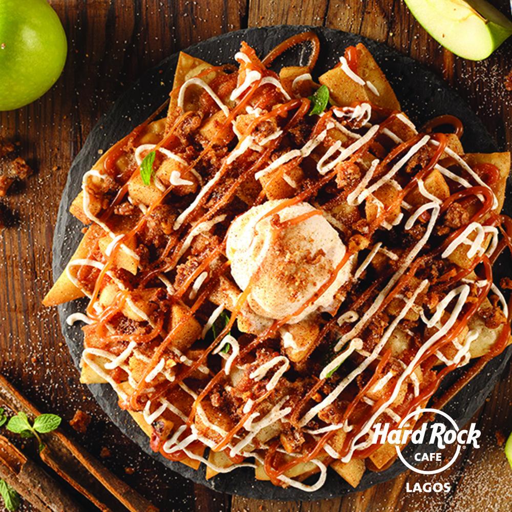 Apple Pie & Walnut Nachos