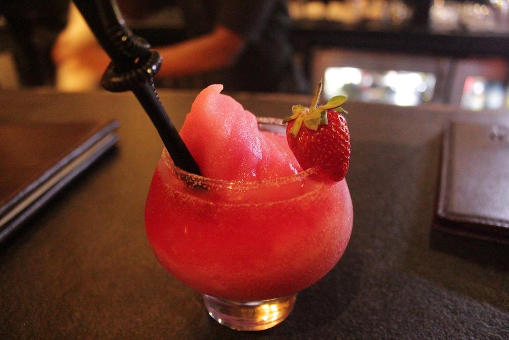 Strawberry & Lychee Margarita