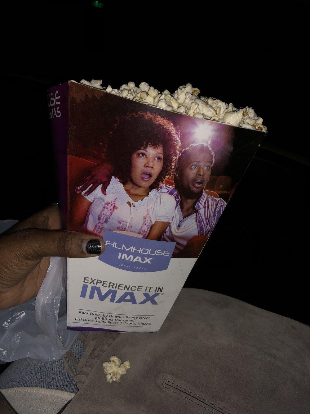 Filmhouse popcorn