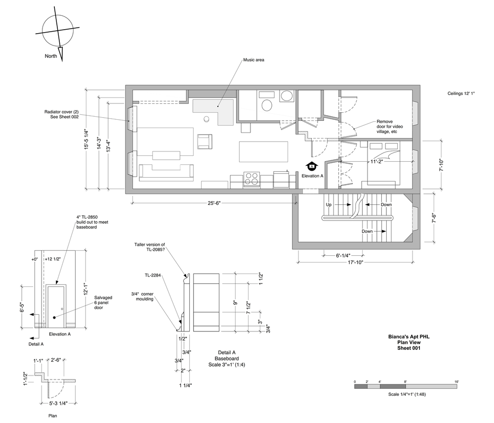 Bianca's Apartment Floor Plan