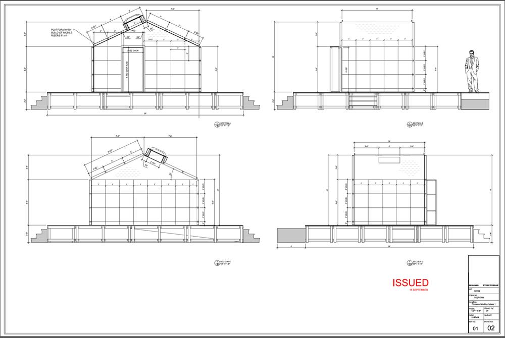 Room Elevation Drawings