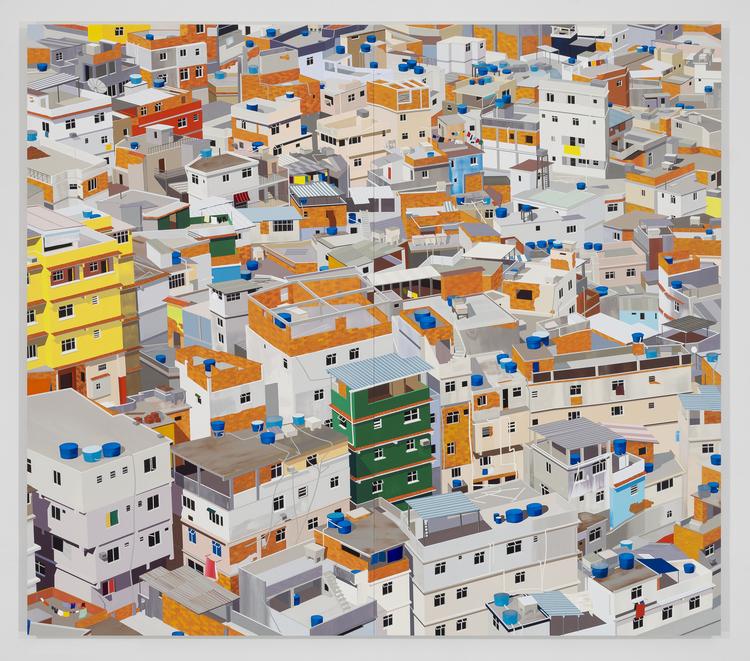Favela, Rio de Janeiro, 2014.