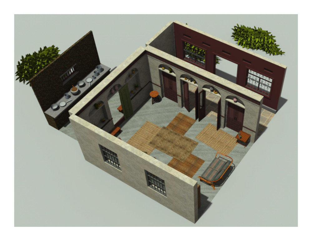 INDIA HOUSE RENDERING
