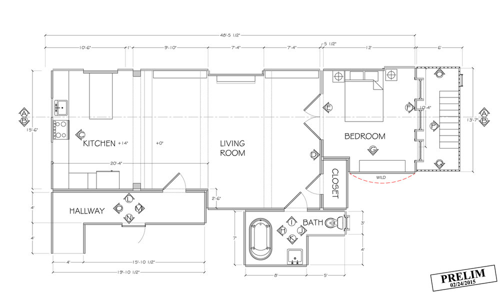 DEV'S APARTMENT FLOOR PLAN