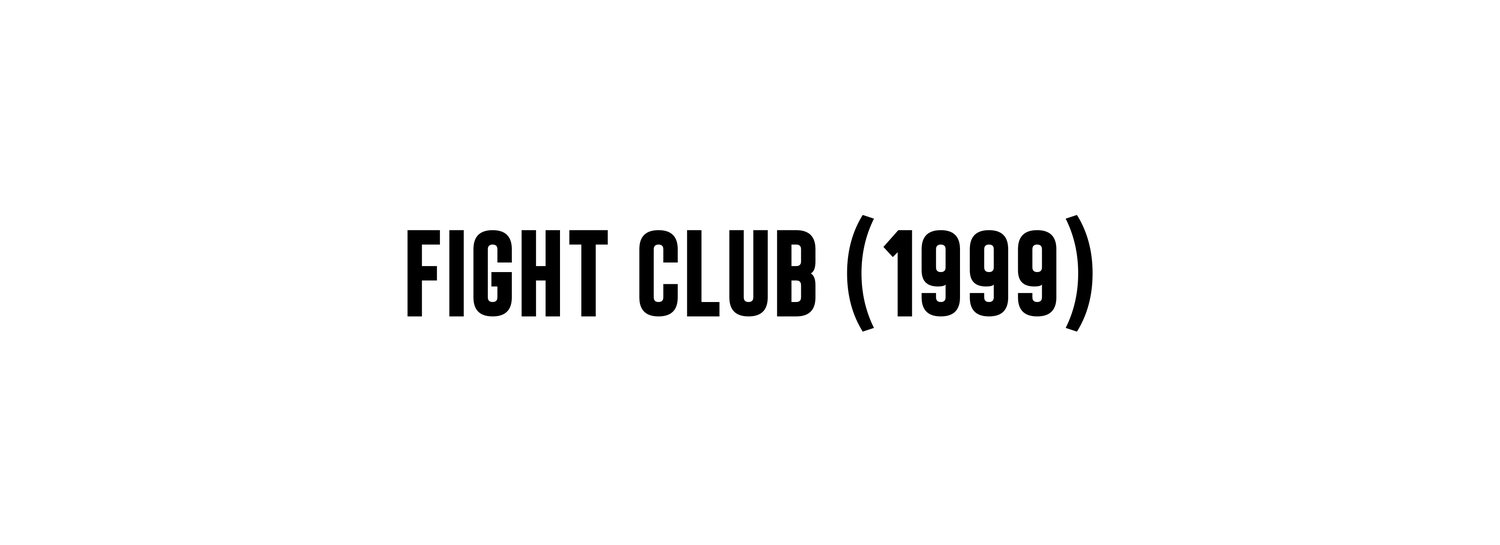 Fight Club (1999) — Interiors : An Online Publication about ...