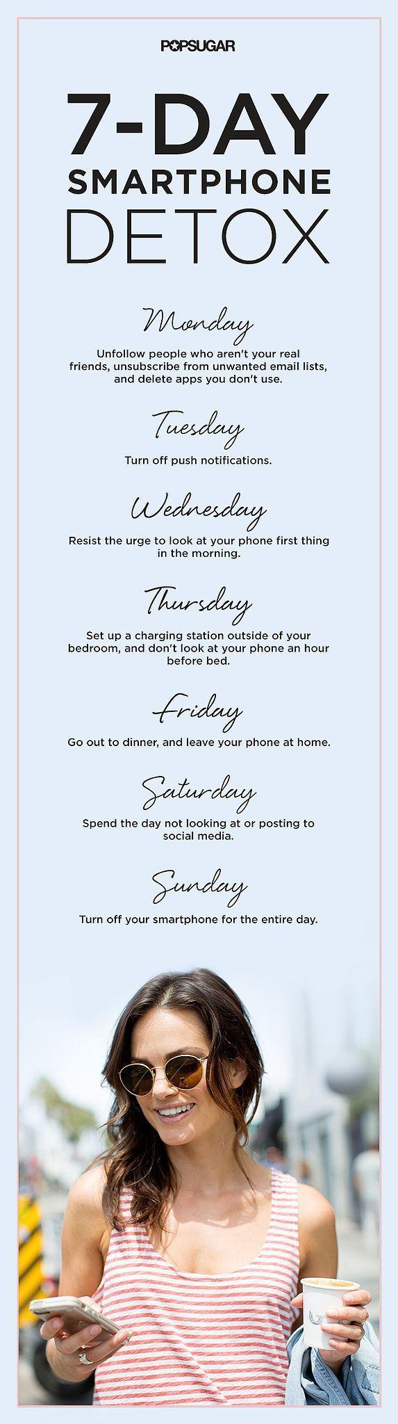 7 Day Smartphone Detox