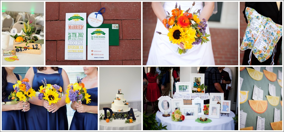 Anastasia + Duanne California Citrus Wedding