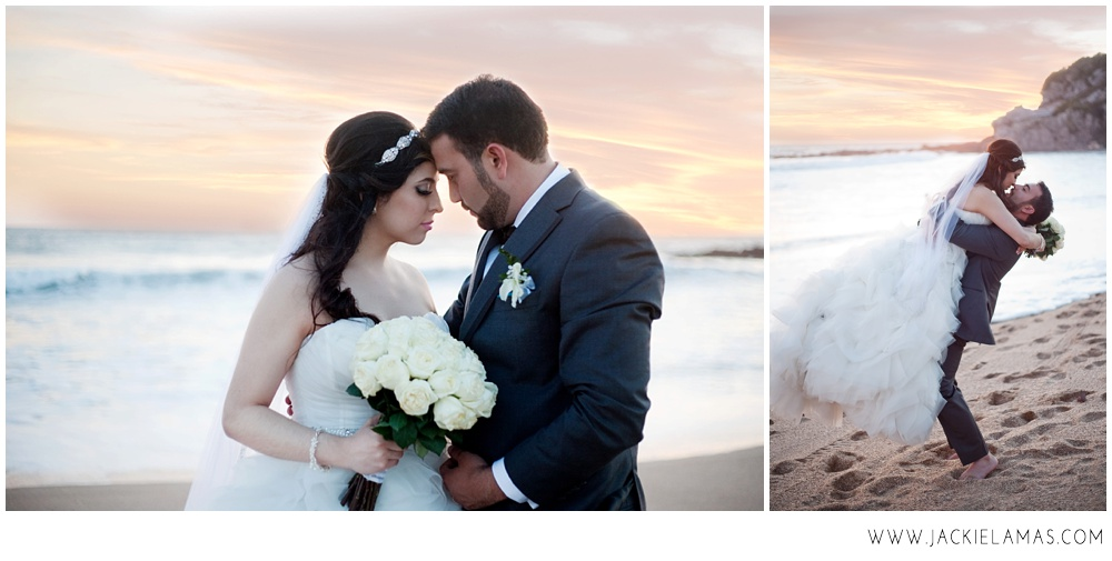 beachweddingsunsetportrait