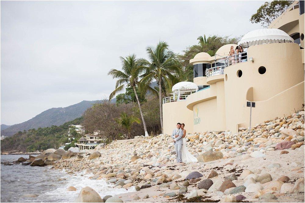 This wedding was held at  Villa Paraiso , Puerto Vallarta coordination by  Beautiful Vallarta Weddings
