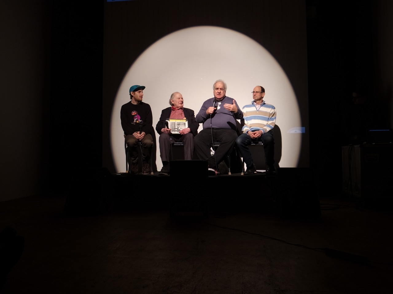 Cory Arcangel, Alan Abel, Bob Pagani, Albin Sadar. Feb. 232013