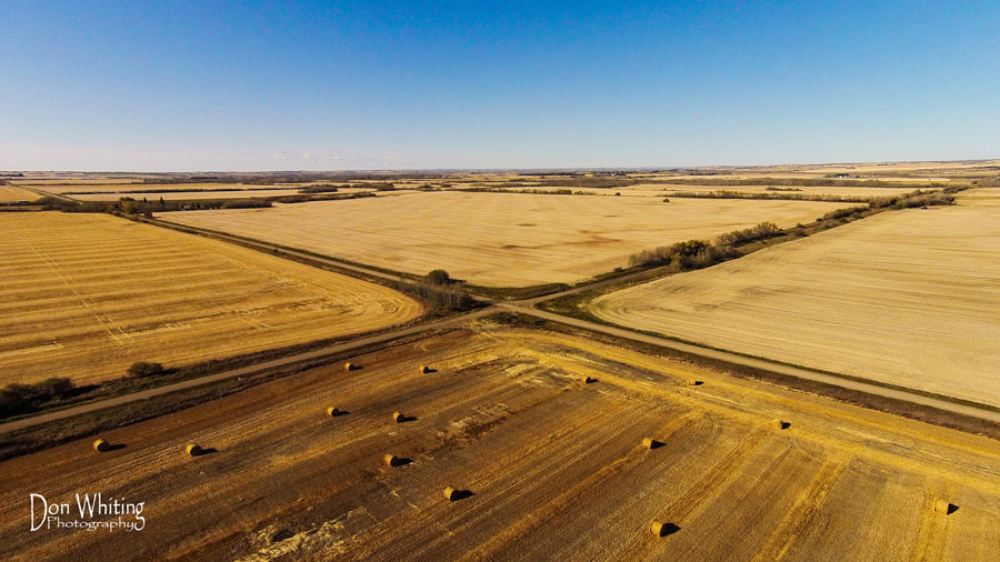 Aerial photography in Lloydminster