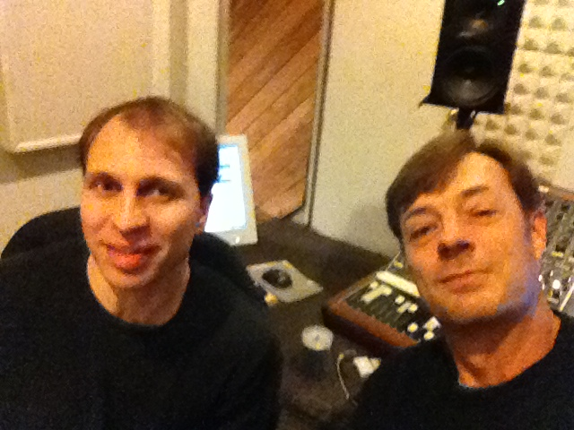 Vin Scialla and Eric Schugren at Tedesco Studios