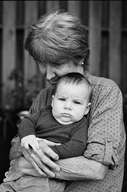 grandma family photography exhibition by Portland photographer Linnea Osterberg