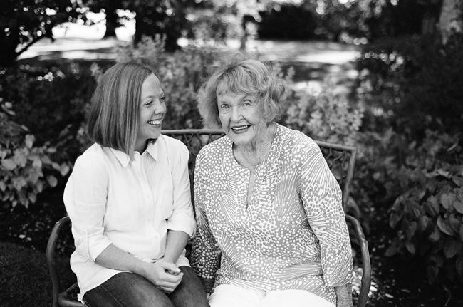 grandma family portraits by Portland photographer Linnea Osterberg