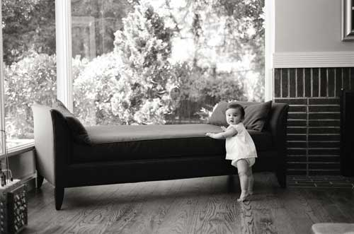 baby at home photography by Portland photographer Linnea Osterberg