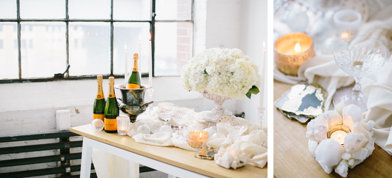 Bright White Loft Tablescape