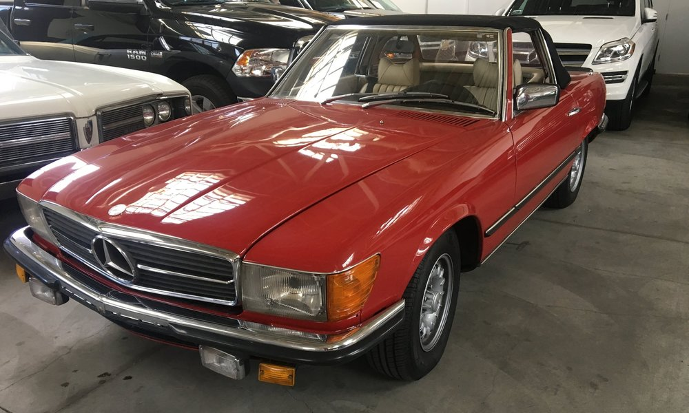 1978 Mercedes Benz - $449/day